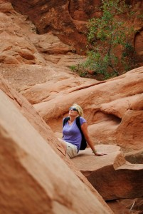 reflecting on the splendor of creation in Arches Natl. Park